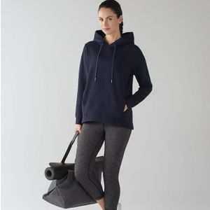 Lululemon Wind Down Pullover Navy Sweatshirt 10